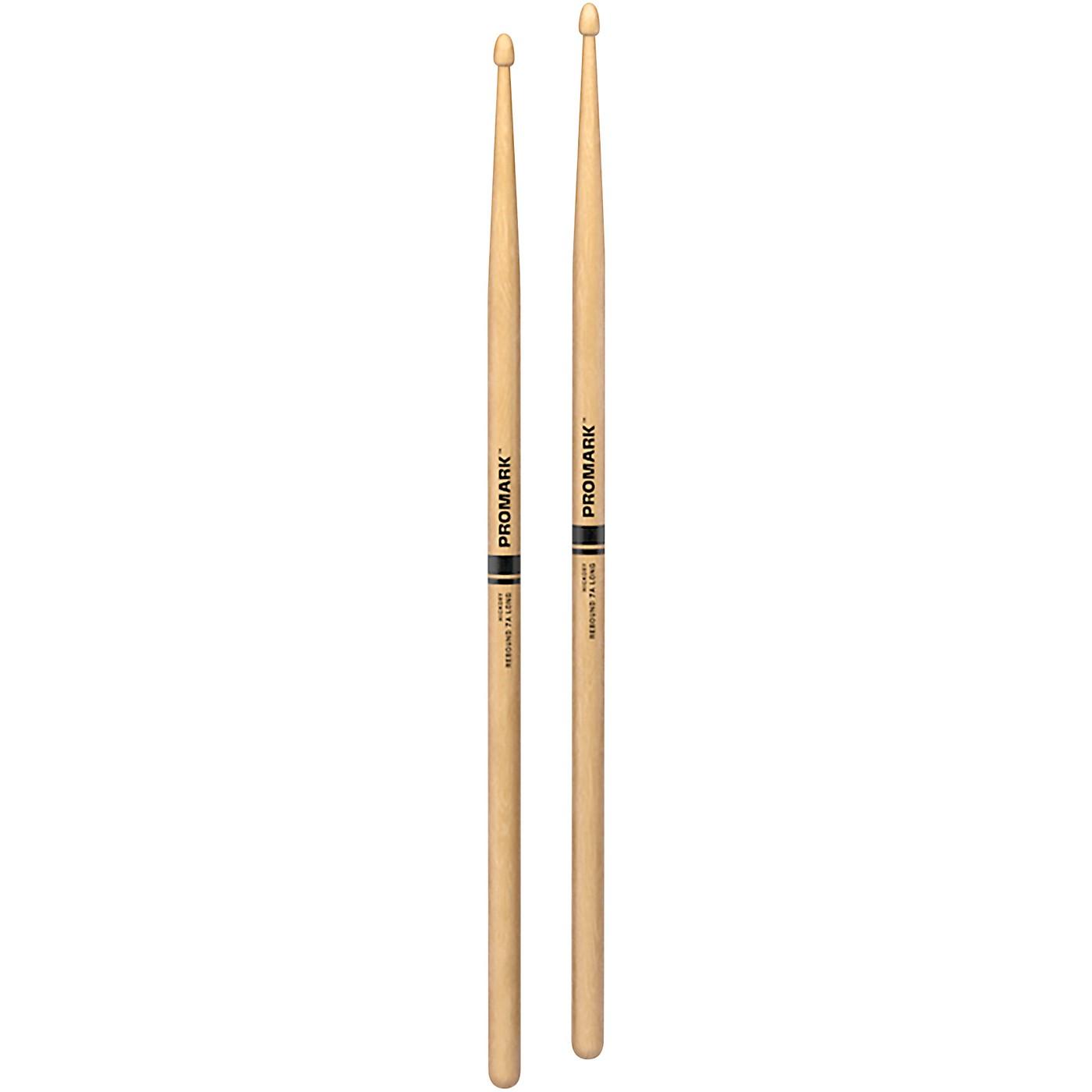 Promark Rebound Long Hickory Acorn Tip Drumstick thumbnail