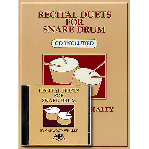 Meredith Music Recital Duets For Snare Drum Book/CD thumbnail