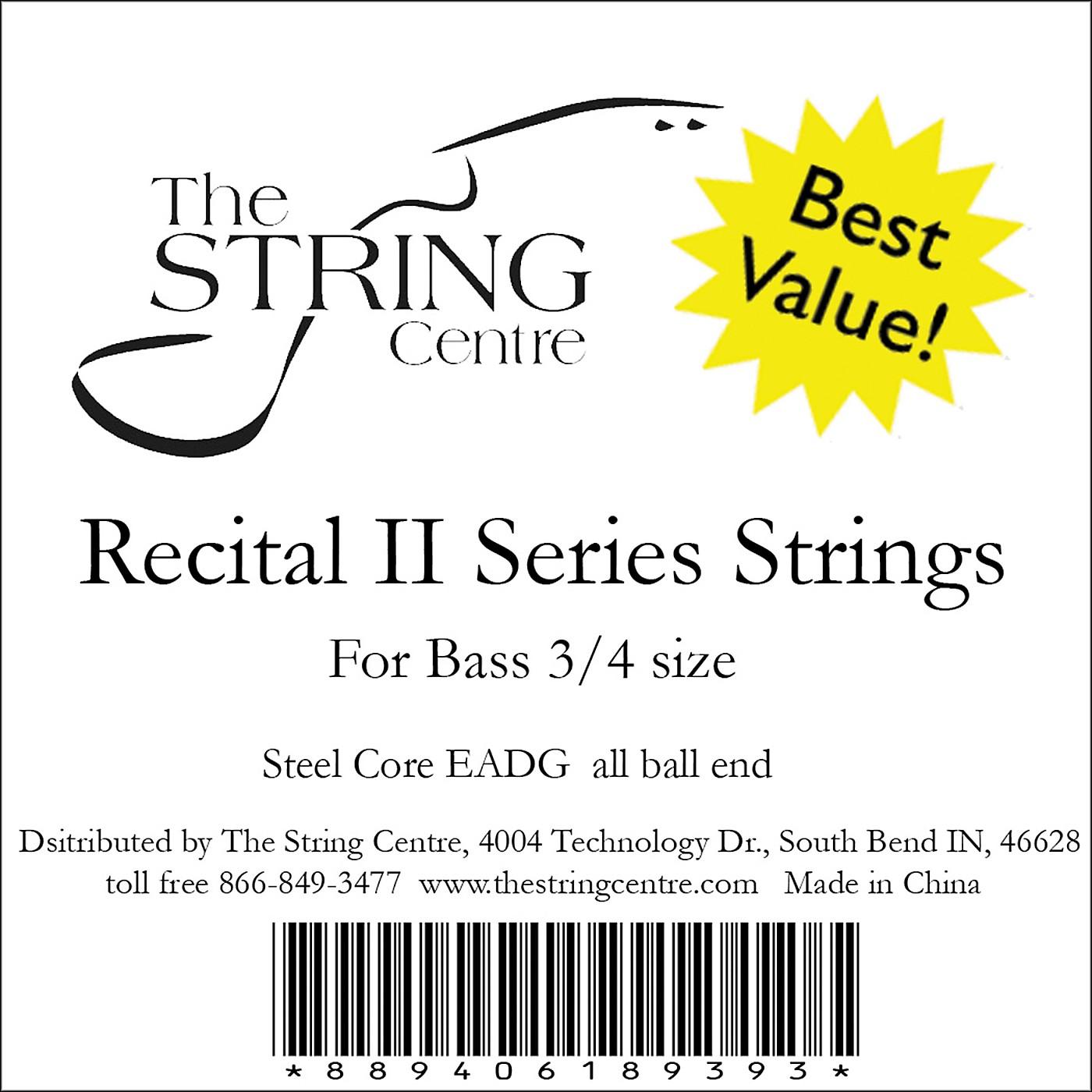 The String Centre Recital II Bass String Set thumbnail