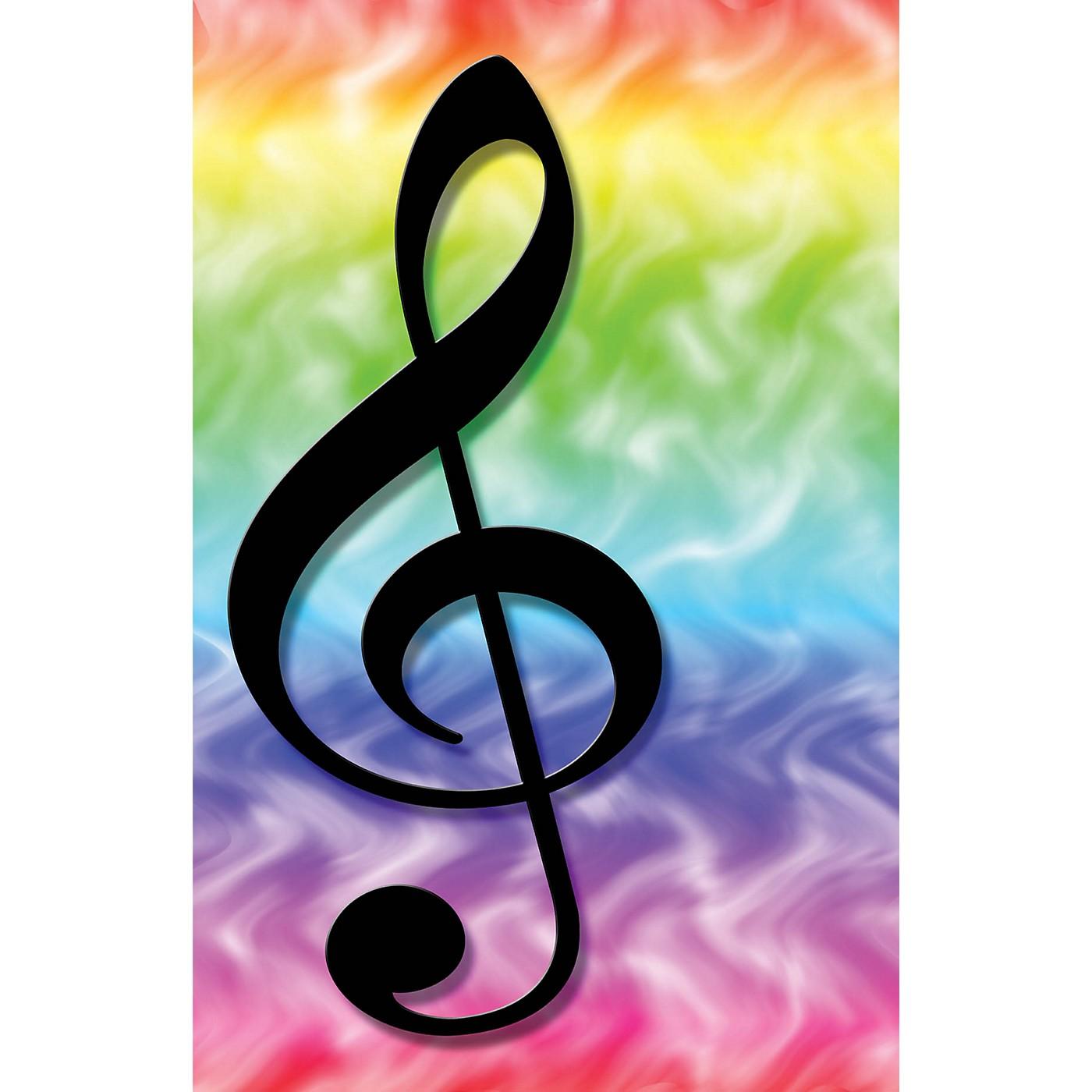 SCHAUM Recital Program #75 - Rainbow Treble Clef Educational Piano Series Softcover thumbnail
