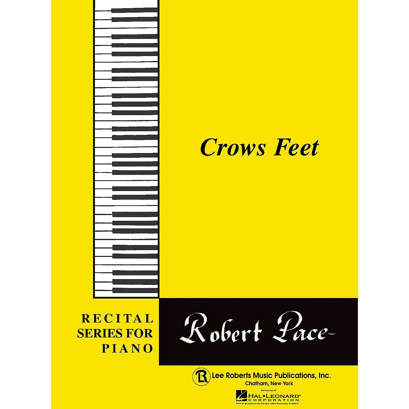 Lee Roberts Recital Series For Piano, Yellow (Book II) Crows Feet Pace Piano Education Series thumbnail