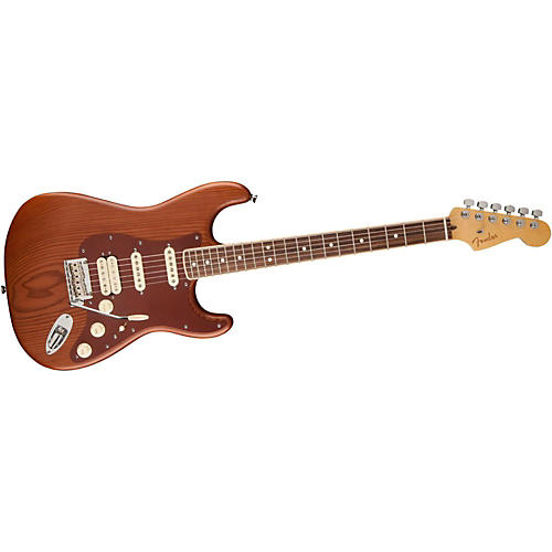 Fender Reclaimed Old Growth Redwood Stratocaster Electric Guitar-thumbnail