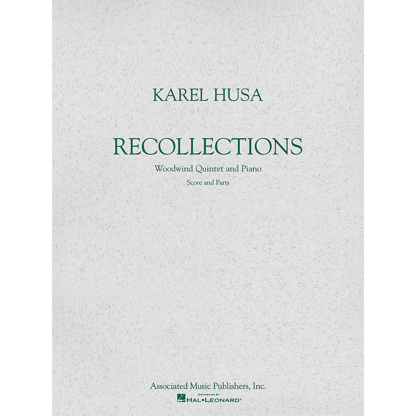 Associated Recollections (Score and Parts) Woodwind Ensemble Series Softcover Composed by Karel Husa thumbnail