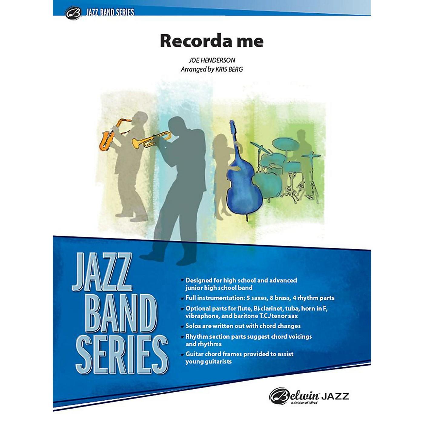 Alfred Recorda Me Jazz Band Grade 3.5 Set thumbnail