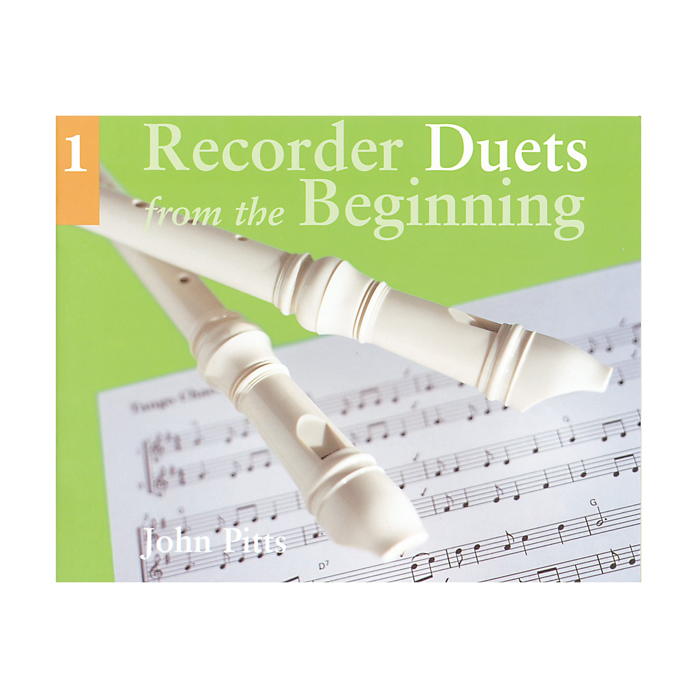 Music Sales Recorder Duets From the Beginning Book 1 thumbnail