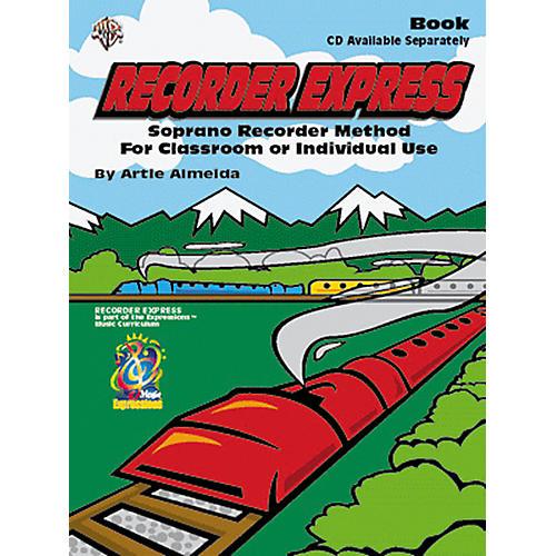 Alfred Recorder Express Beginning Method Book-thumbnail