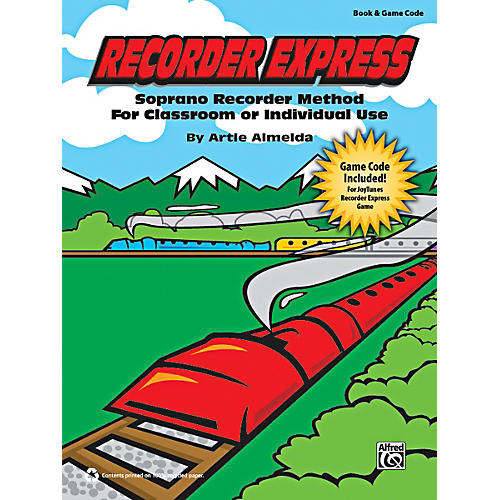 Alfred Recorder Express Book & Game Code thumbnail