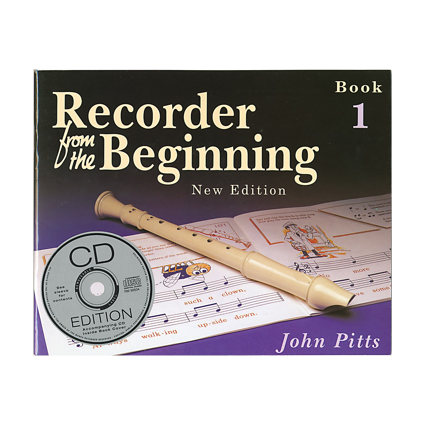 Music Sales Recorder From the Beginning: Book and CD 1 thumbnail
