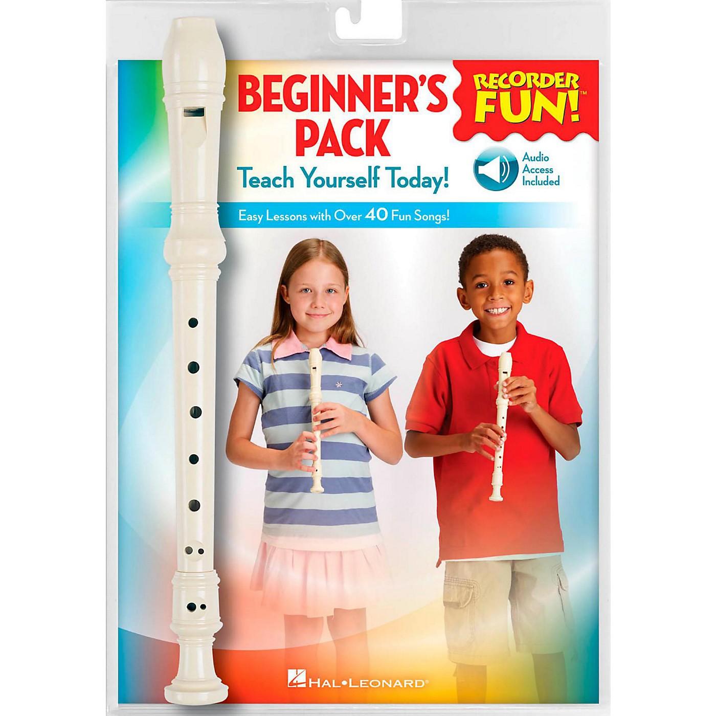 Hal Leonard Recorder Fun! Beginner's Pack Book/Online Audio/Instrument thumbnail
