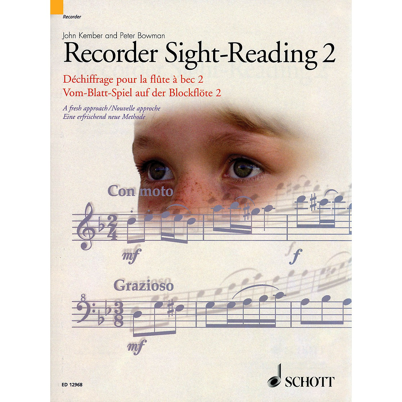 Schott Recorder Sight-Reading 2 Misc Series Written by John Kember thumbnail
