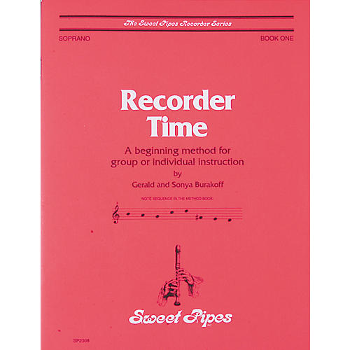 Sweet Pipes Recorder Time Book 1-thumbnail