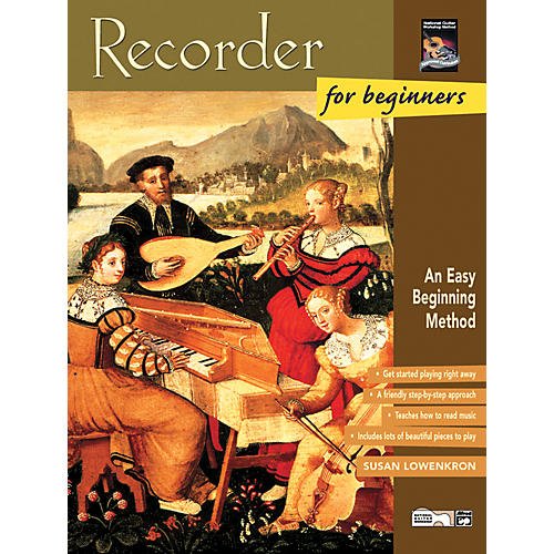 Alfred Recorder for Beginners Book/CD thumbnail