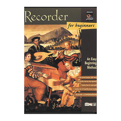 Alfred Recorder for Beginners (Book) thumbnail