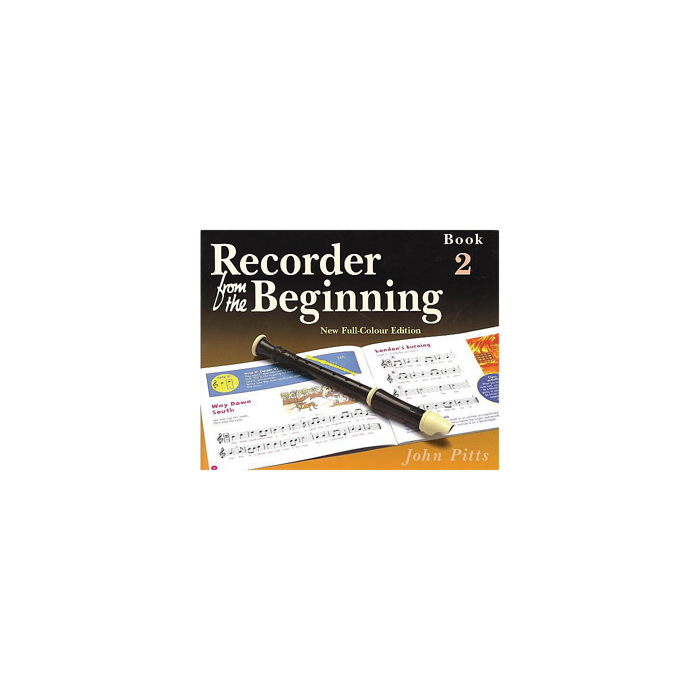 Music Sales Recorder from the Beginning - Book 2 (Full Color Edition) Music Sales America Series by John Pitts thumbnail