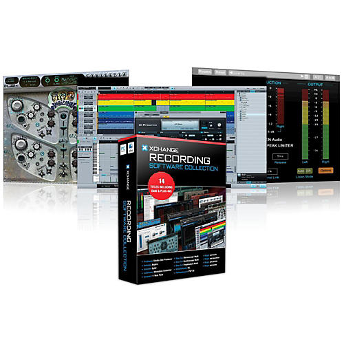 XCHANGE Recording Collection with PreSonus, Antares, Celemony, Blue Cat Audio, Ohm Force, and Magix thumbnail