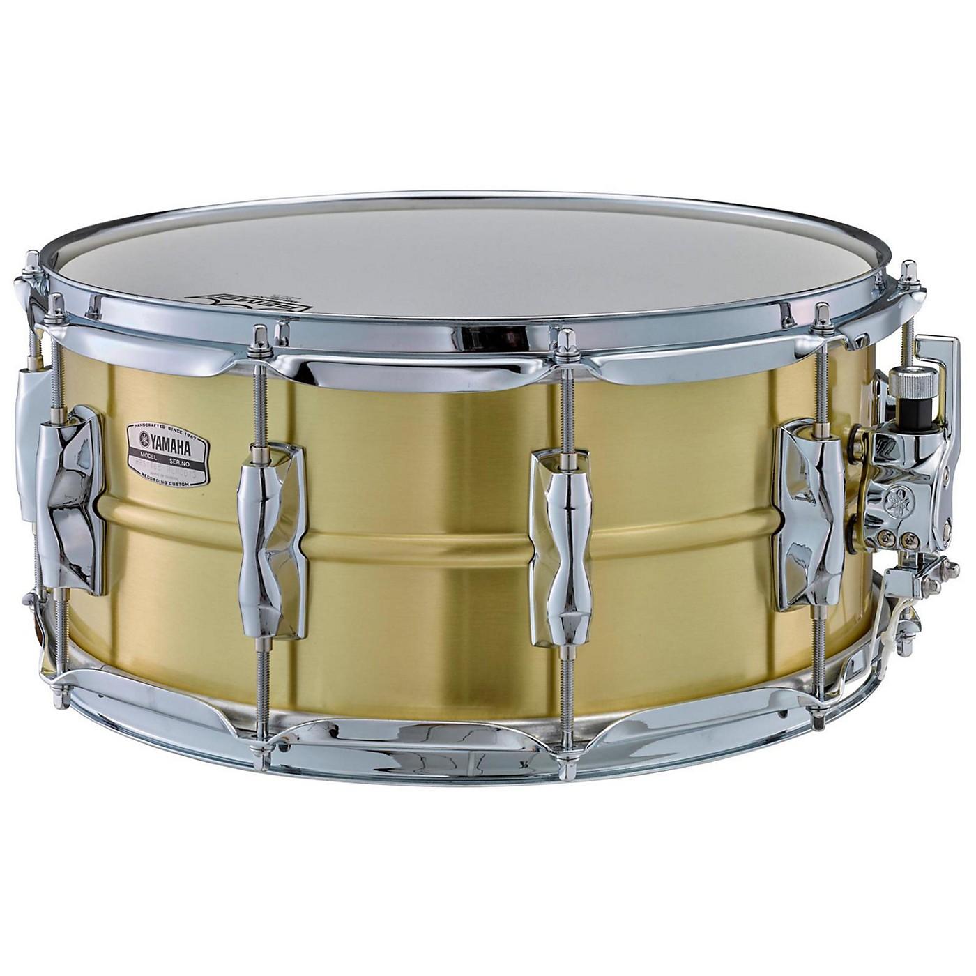 Yamaha Recording Custom Brass Snare Drum thumbnail