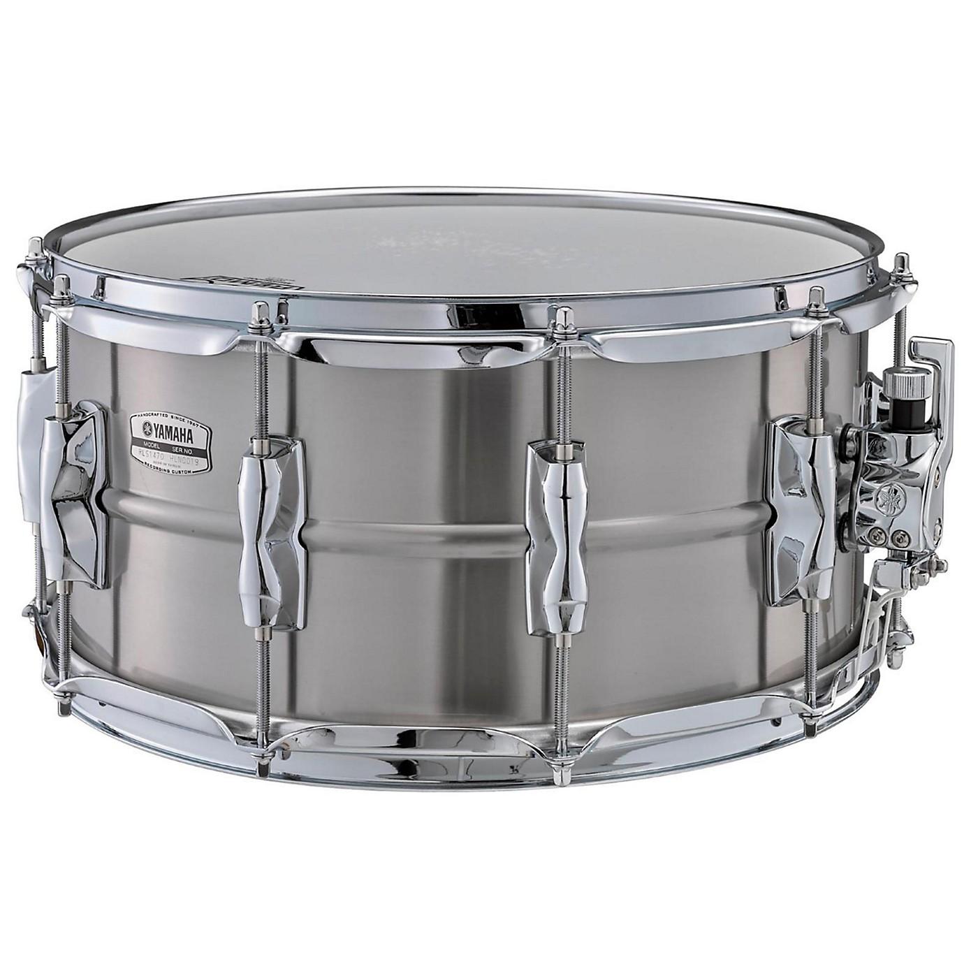 Yamaha Recording Custom Stainless Steel Snare Drum thumbnail