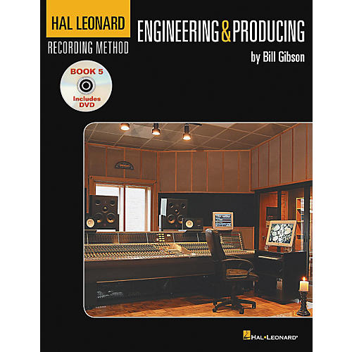 Hal Leonard Recording Method Book 5: Engineering & Producing (Book/DVD)-thumbnail
