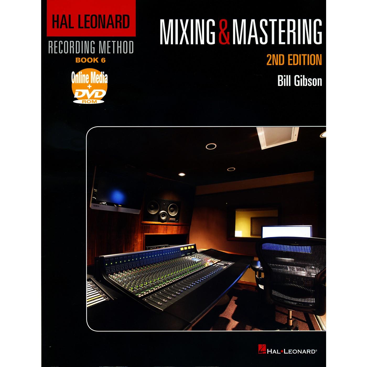 Hal Leonard Recording Method Book 6 - Mixing & Mastering 2nd Edition Book/DVD thumbnail