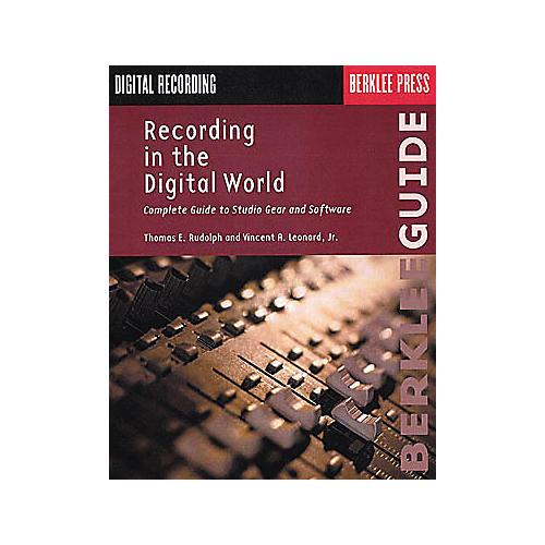 Berklee Press Recording in the Digital World Book thumbnail
