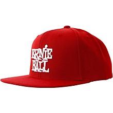 Ernie Ball Red Cap with White Ernie Ball Logo