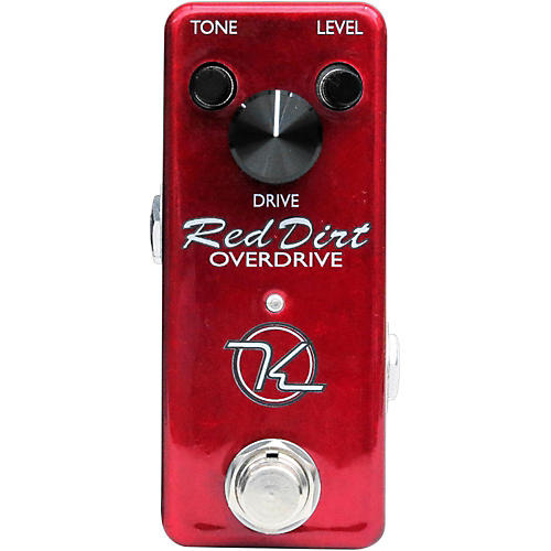 Keeley Red Dirt Mini Overdrive Guitar Effects Pedal thumbnail