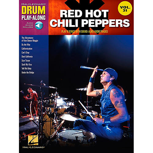 Hal Leonard Red Hot Chili Peppers Drum Play-Along Vol. 31 (Book/CD) thumbnail