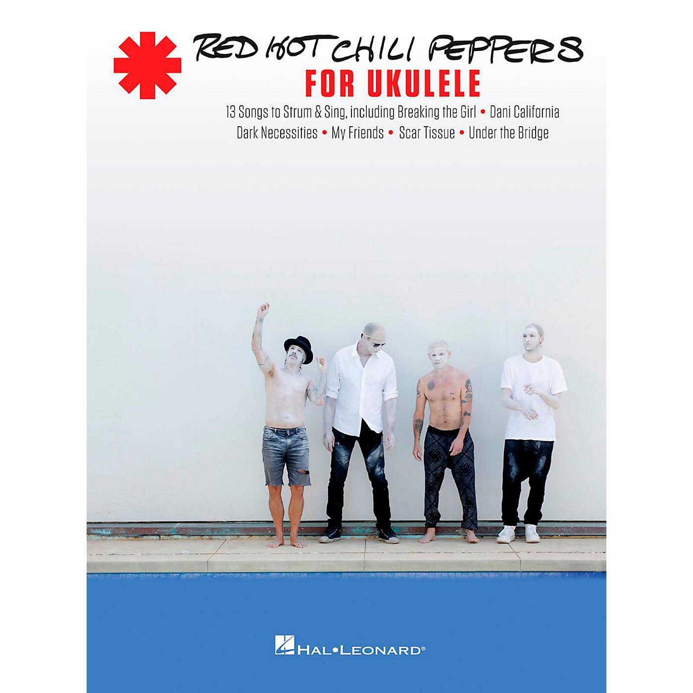 Hal Leonard Red Hot Chili Peppers for Ukulele thumbnail
