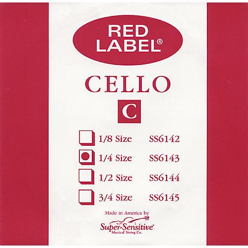 Super Sensitive Red Label Cello C String thumbnail