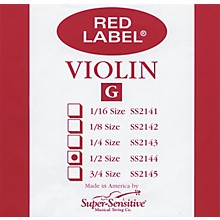 Super Sensitive Red Label Violin G String
