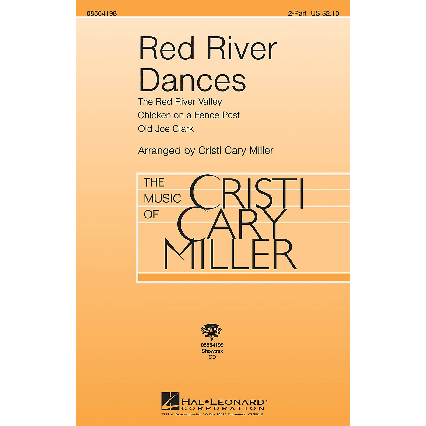 Hal Leonard Red River Dances ShowTrax CD Arranged by Cristi Cary Miller thumbnail