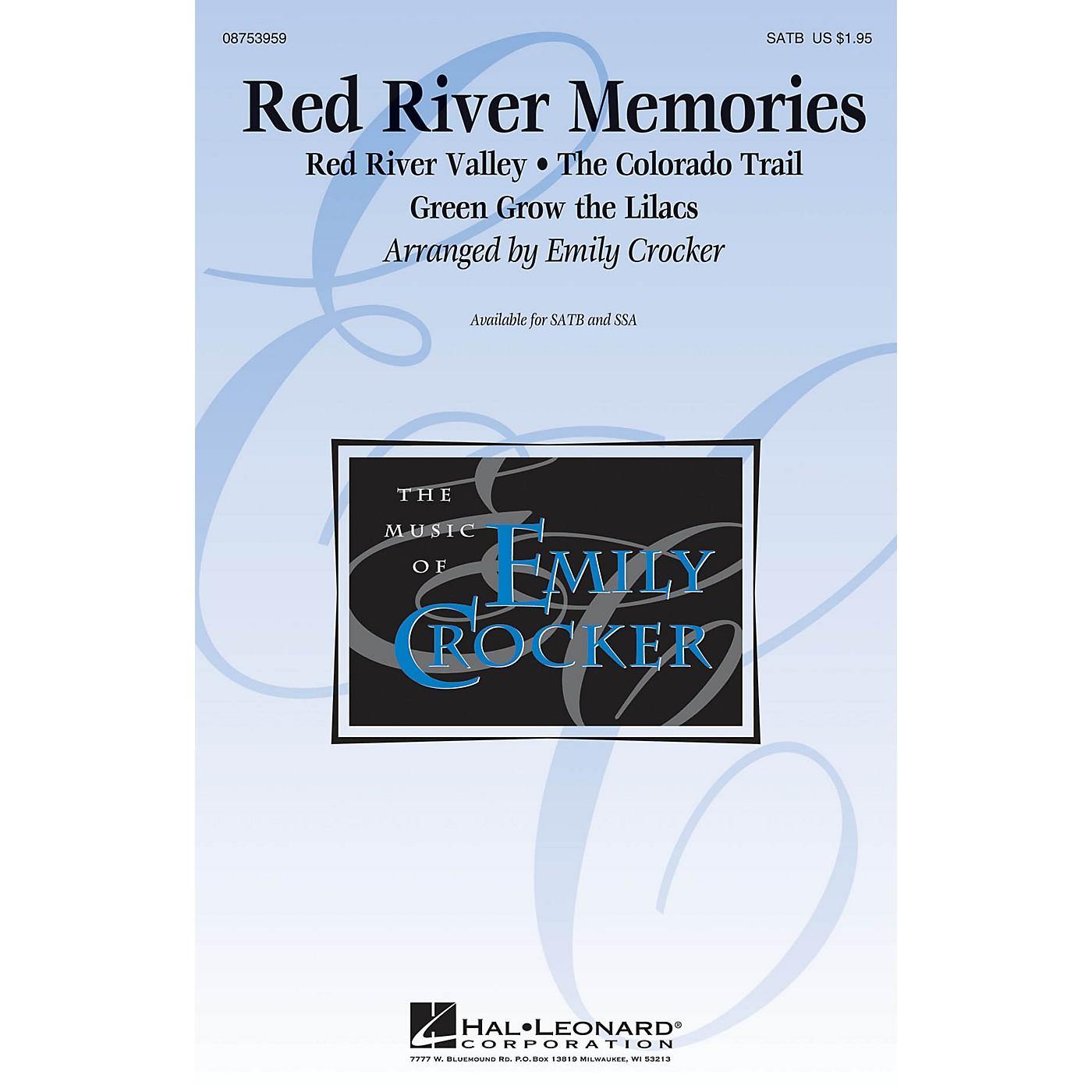 Hal Leonard Red River Memories (Medley) SSA Arranged by Emily Crocker thumbnail