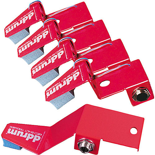 Ddrum Red Shot 5-Piece Drum Trigger Pack thumbnail