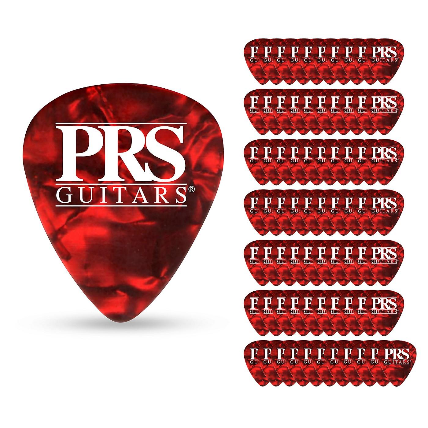 PRS Red Tortoise Celluloid Guitar Picks thumbnail