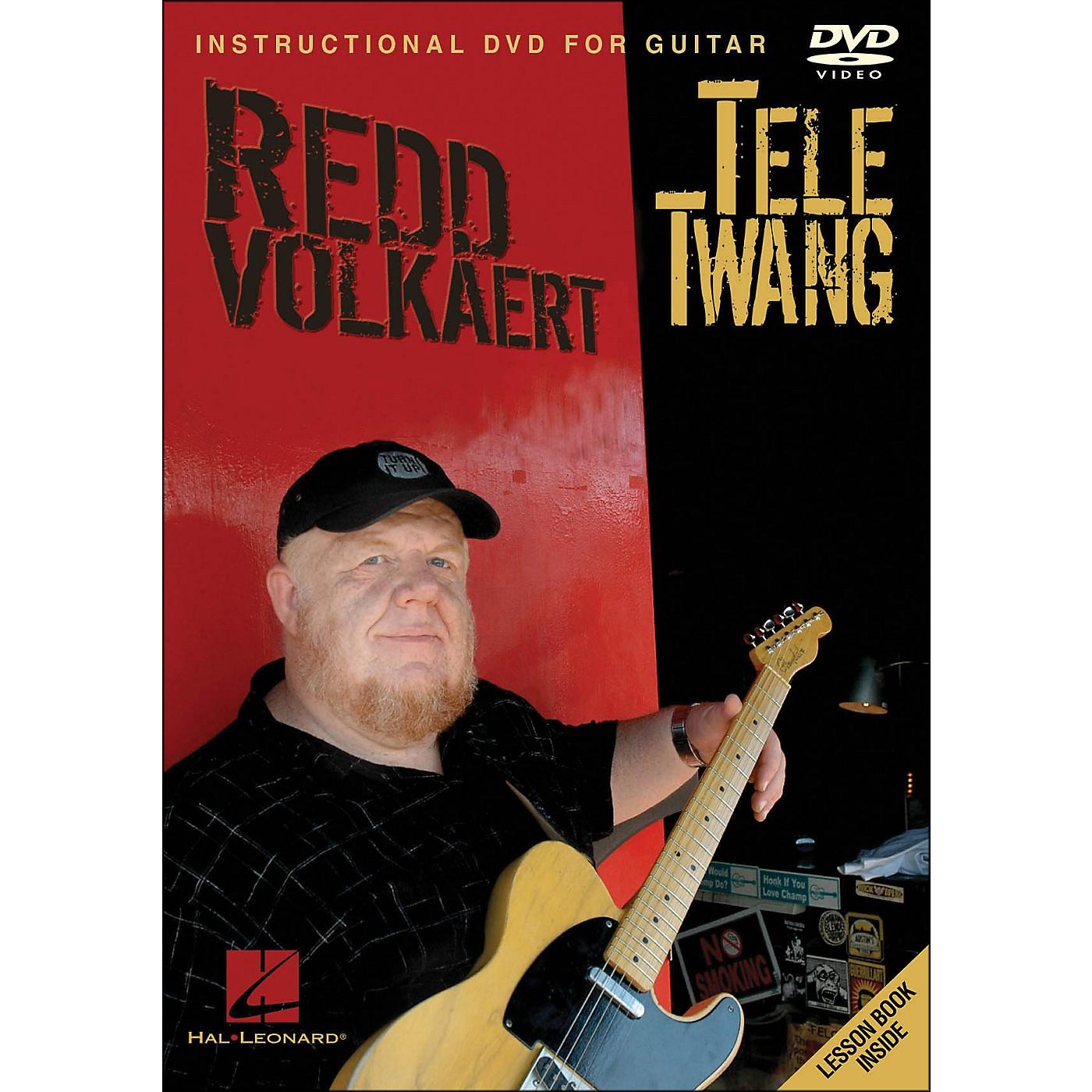 Hal Leonard Redd Volkaert Tele Twang - Instructional & Performance Guitar DVD thumbnail