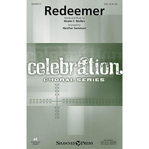 Shawnee Press Redeemer SAB by Nicole C. Mullen arranged by Heather Sorenson thumbnail