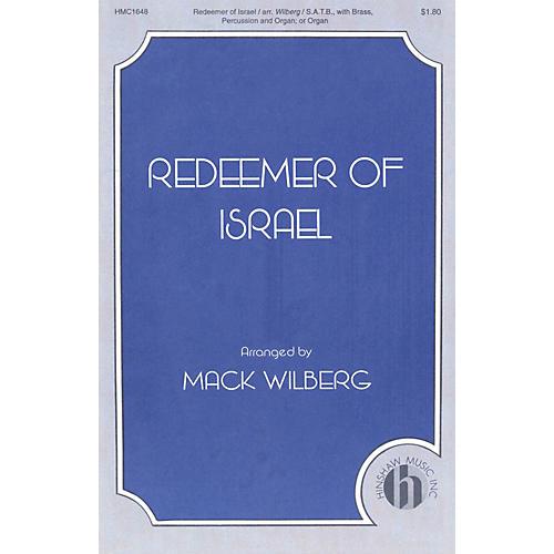 Hinshaw Music Redeemer of Israel SATB arranged by Mack Wilberg thumbnail