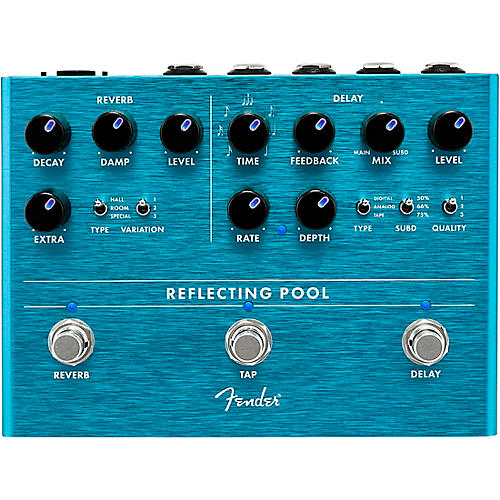 Fender Reflecting Pool Delay & Reverb Effects Pedal thumbnail