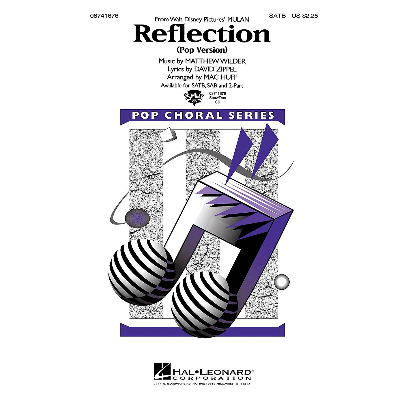 Hal Leonard Reflection (Pop Version) (from Mulan) SATB arranged by Mac Huff thumbnail