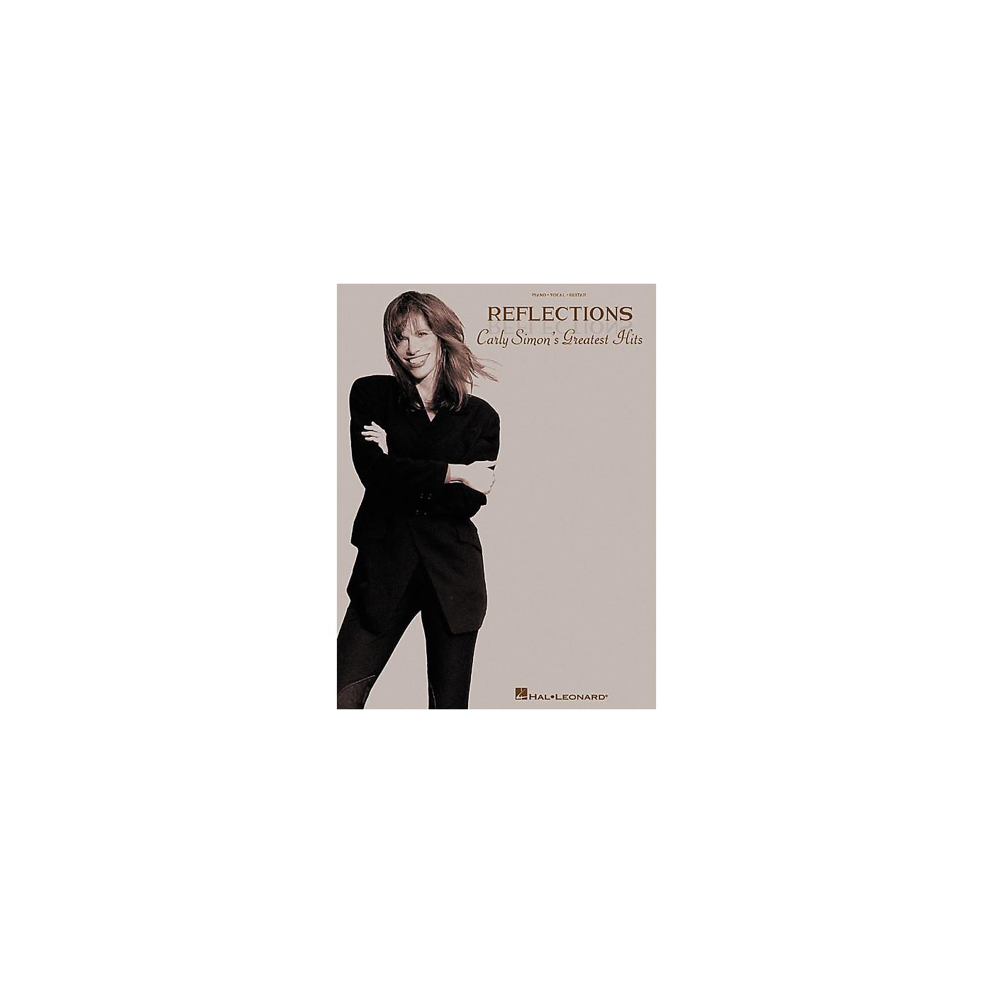 Hal Leonard Reflections - Carly Simon's Greatest Hits Songbook thumbnail
