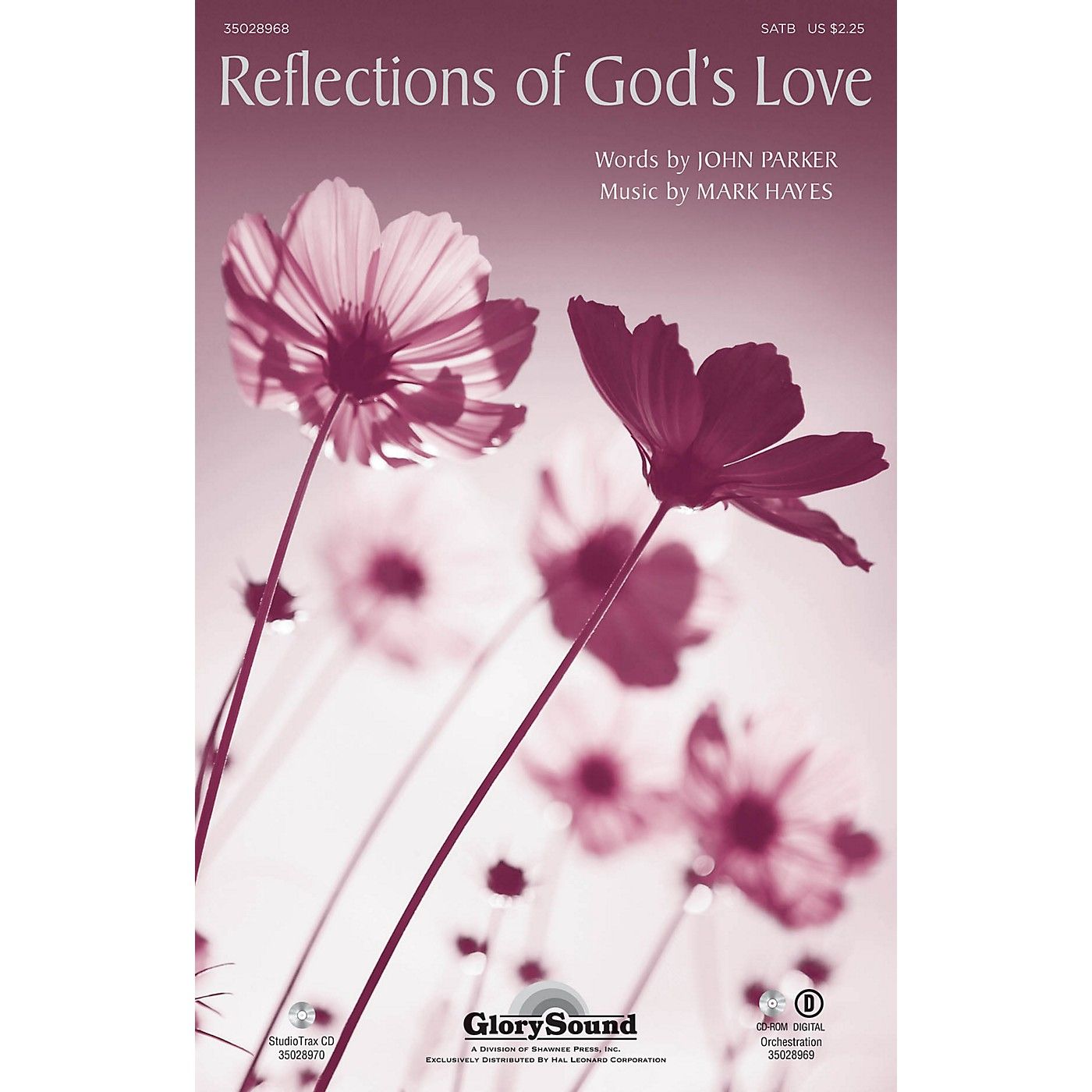 Shawnee Press Reflections of God's Love Studiotrax CD Composed by Mark Hayes thumbnail
