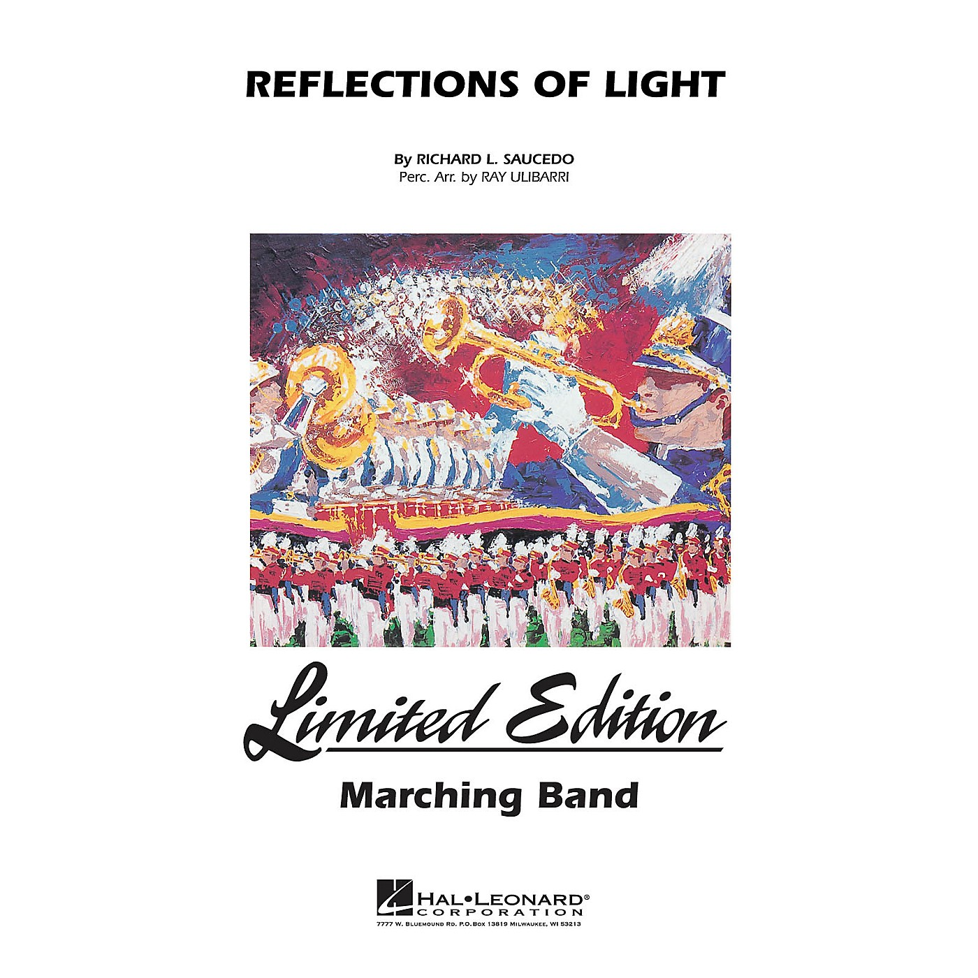Hal Leonard Reflections of Light Marching Band Level 5 Composed by Richard Saucedo thumbnail
