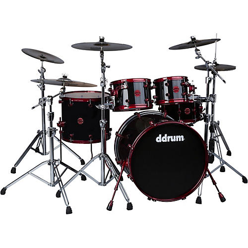 Ddrum Reflex White with Red Shell Hardware thumbnail