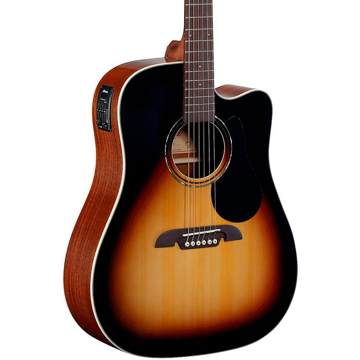 Alvarez Regent Series Dreadnought Cutaway Acoustic-Electric Guitar thumbnail