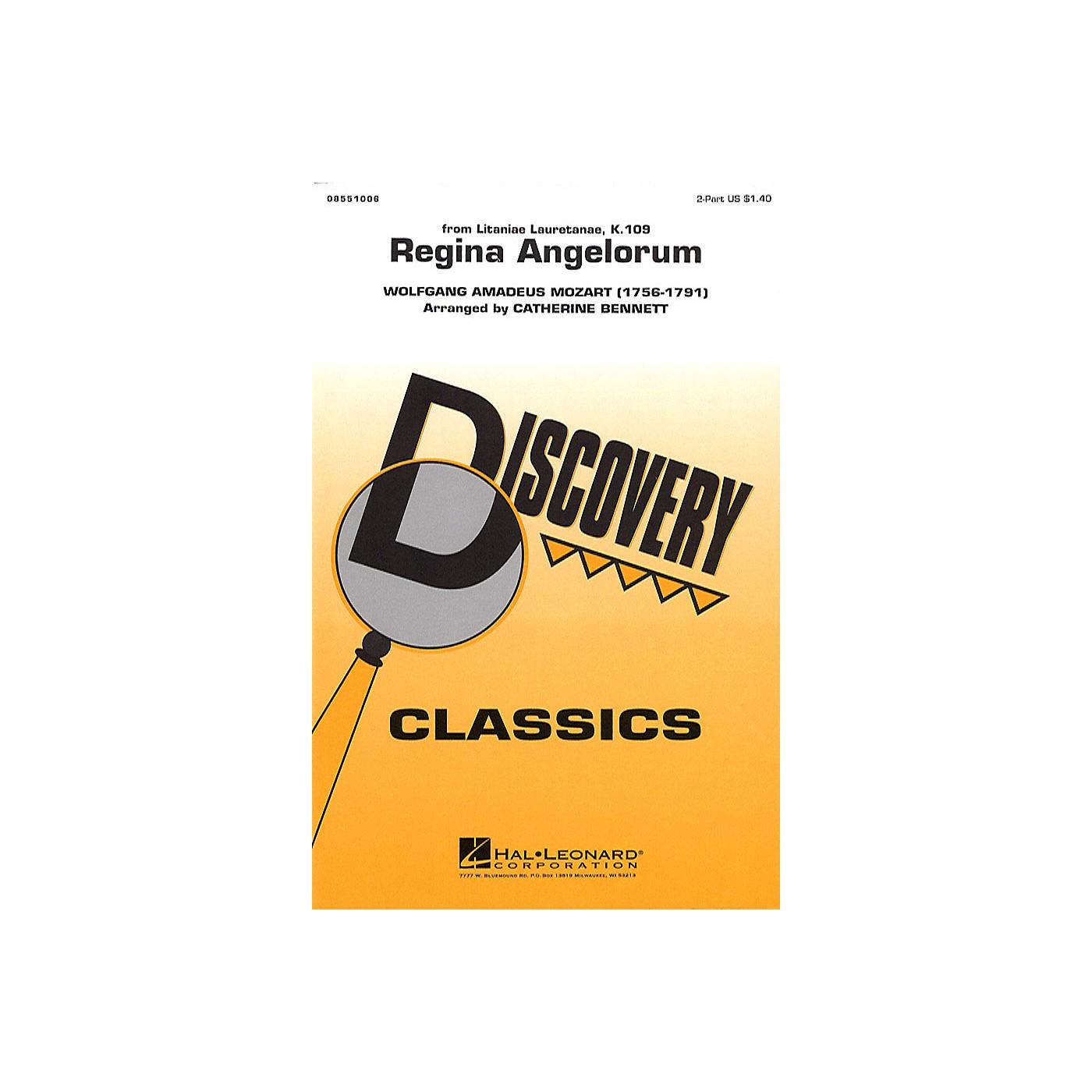 Hal Leonard Regina Angelorum 2-Part arranged by Catherine Bennett thumbnail