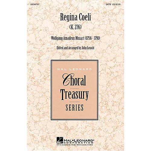 Hal Leonard Regina Coeli SATB composed by Wolfgang Amadeus Mozart thumbnail