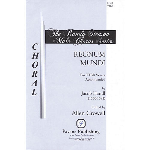 Pavane Regnum Mundi TTBB A Cappella composed by Jacob Handl thumbnail