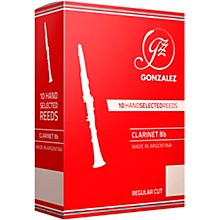 Gonzalez Regular Cut Bb Clarinet Reeds