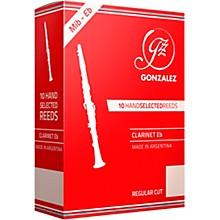 Gonzalez Regular Cut Eb Clarinet Reeds Box of 10