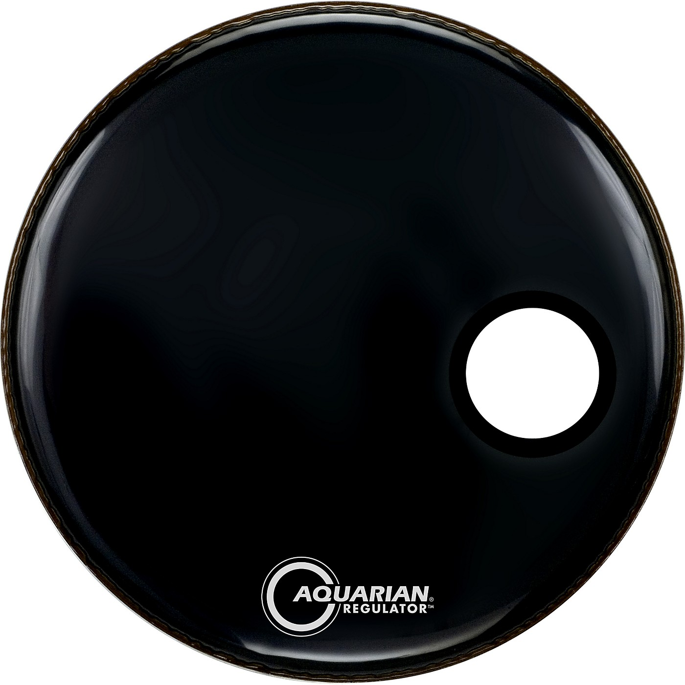Aquarian Regulator Black Resonant Kick Drumhead thumbnail